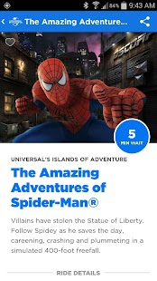 Universal Orlando® Resort App Screenshot 6