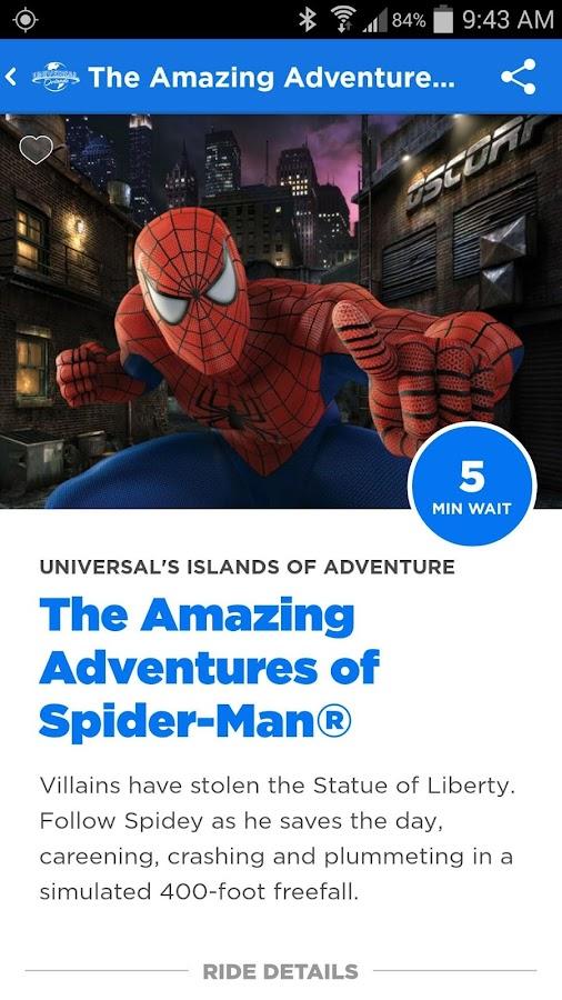 Universal Orlando® Resort App - screenshot