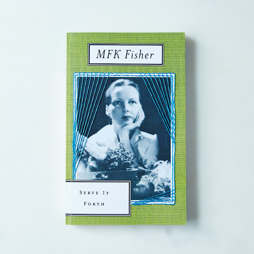 Hand-Embroidered M.F.K. Fisher Book