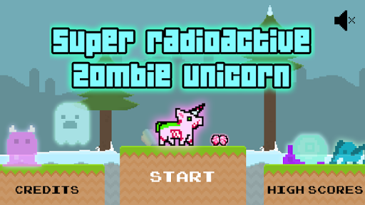 Radioactive Zombie Unicorn