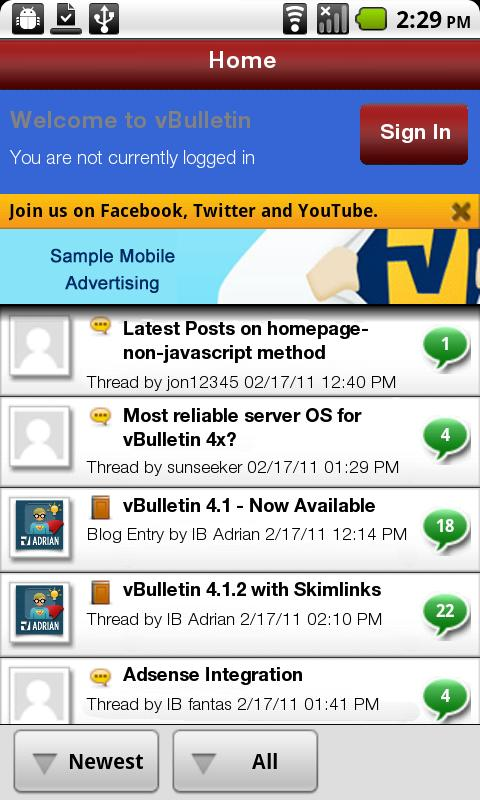 ProSportsDaily Mobile - screenshot