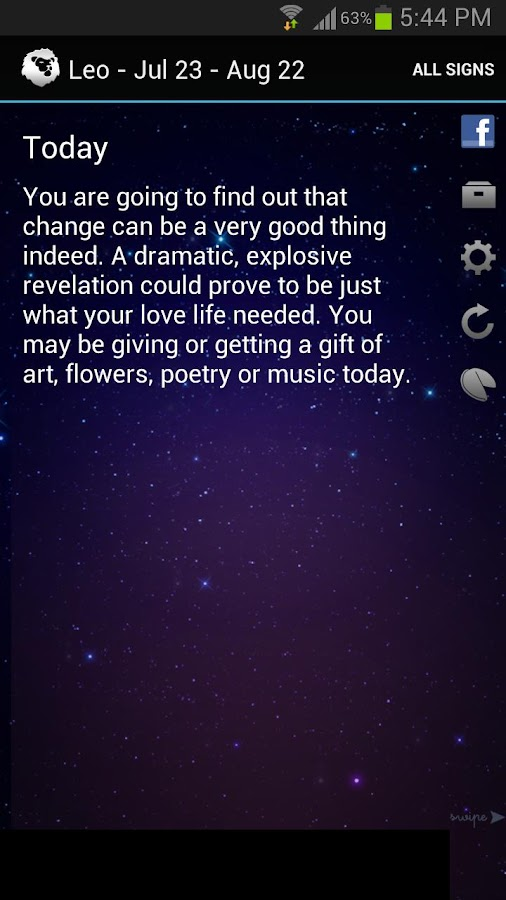 Horoscopes + daily fortune - screenshot