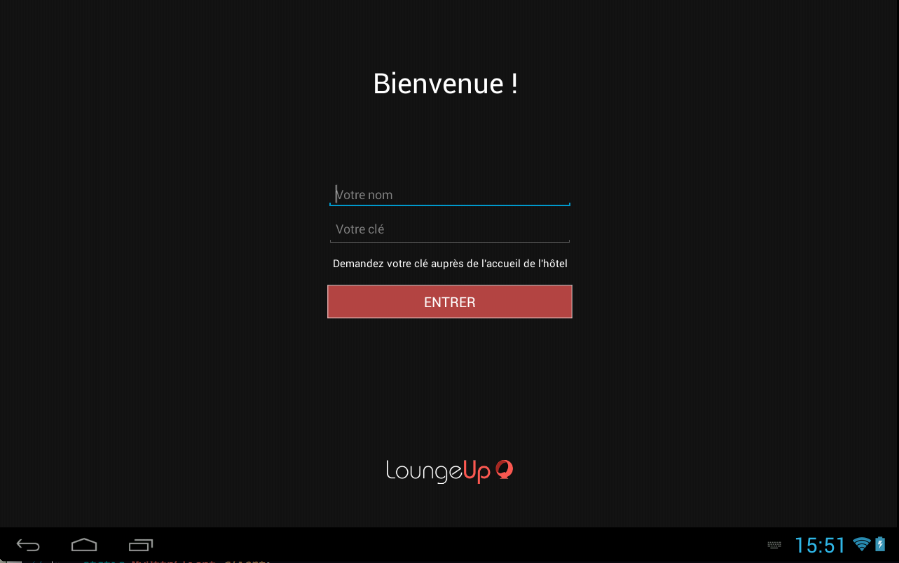 LoungeUp – Capture d'écran