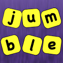 Unscramble Jumbled Words Games icon