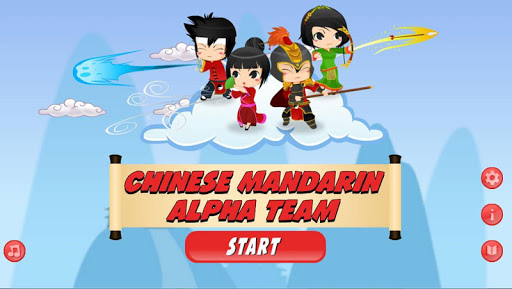 Chinese Mandarin Alpha Team