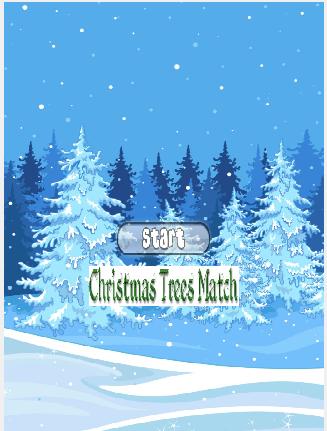 Christmas Tree Match Race Game