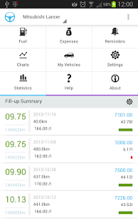 Wheels - Car Management for fuel and expenses- screenshot thumbnail