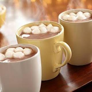 Creamy Hot Chocolate.