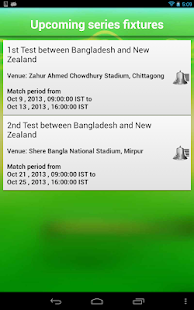 Cricket live score App - screenshot thumbnail