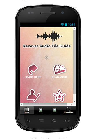 Recover Audio File Guide