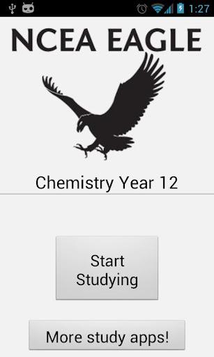 NCEA Chemistry Year 12