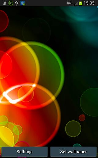 Galaxy Bubbles HD Wallpaper