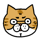 Ossan cat puzzle icon