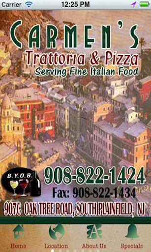 Carmen's Trattoria Pizza