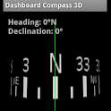Dashboard Compass 3D logo