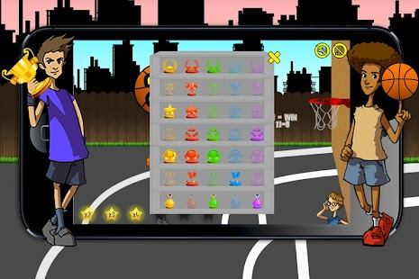 21 Point Basket Ball- screenshot thumbnail