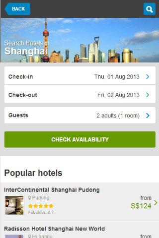 China Hotel booking 80 off