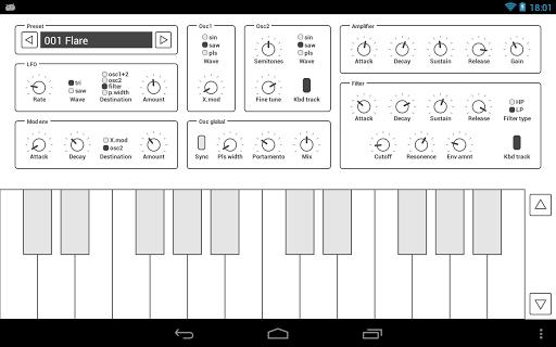 Common Analog Synthesizer