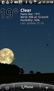 True Weather LWP Free screenshot 1