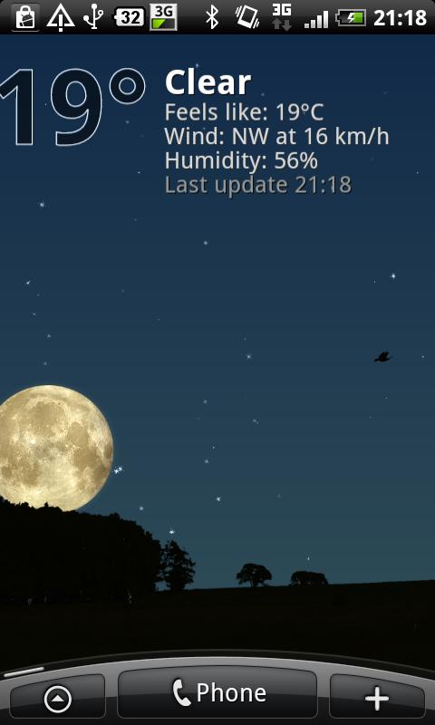 True Weather LWP Free - screenshot
