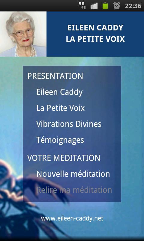 La petite voix - Eileen Caddy - screenshot
