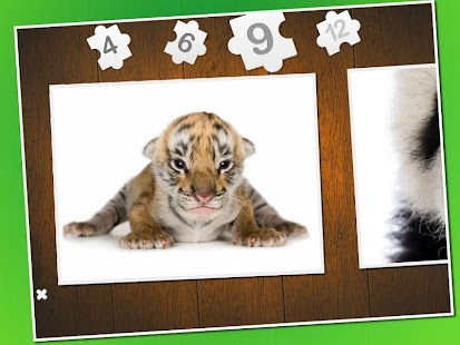 Baby animal puzzle
