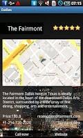 Screenshot of Dallas Travel Guide