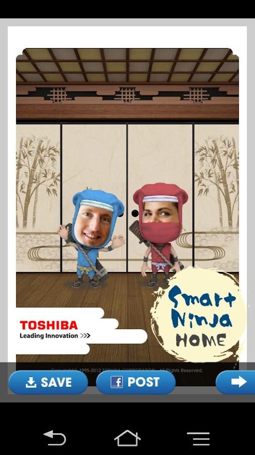 SMART NINJA HOME - screenshot
