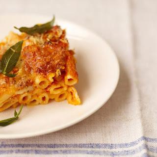 Squash & Ricotta Pasta Bake