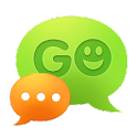 GO SMS Pro and GO Keyboard are from the same developer