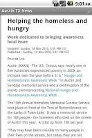 Screenshot of Austin TX News