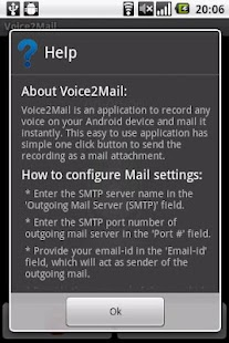 Voice to Email - screenshot thumbnail