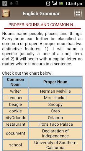 English Grammar Book  screenshots 6