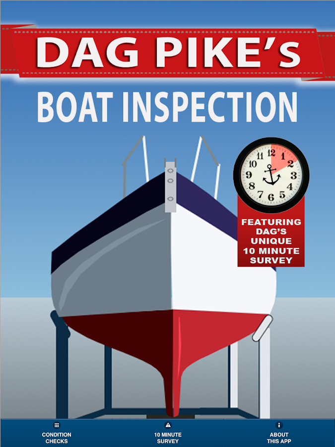 Dag Pike's Boat Inspection App- screenshot