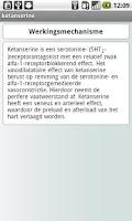 Screenshot of Anesthesiologie Medicatie