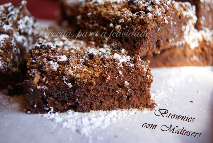 Malt Ball Brownies