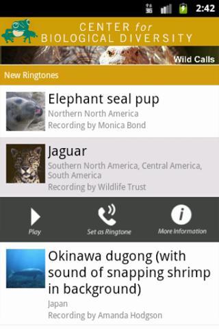 Species Finder- screenshot