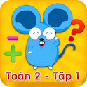 Hoc Tot Toan Lop 2 - Tap 1 icon