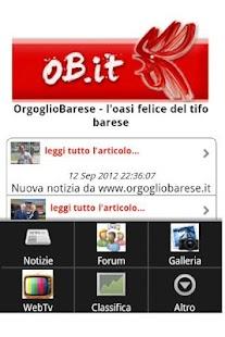 Orgoglio Barese- screenshot thumbnail