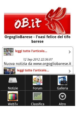 Orgoglio Barese- screenshot