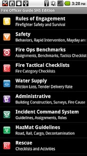 Fire Officer Field Guide SHS - screenshot thumbnail