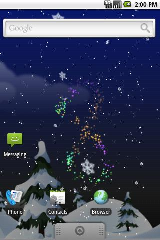 Winter Snow PRO Live Wallpaper - screenshot