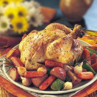 Rosemary Chicken & Roasted Vegetables