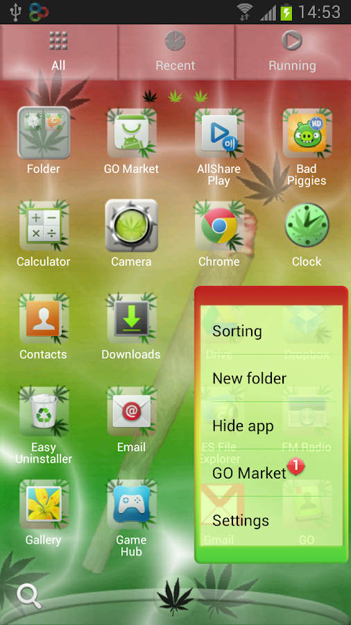 GO Launcher EX Theme Joint - screenshot