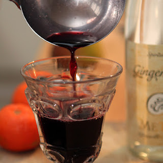 Hot Mulled Wine – Vin chaud.