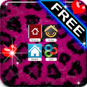 Pink Leopard Theme 4 Launcher icon