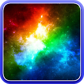 Galaxy 3D Parallax Wallpaper