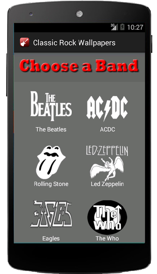 classic rock wallpapers android apps on google play