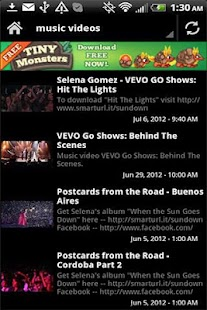 Selena Gomez Videos Music News - screenshot thumbnail