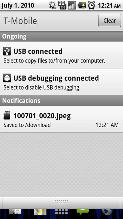 AutoSave MMS - screenshot